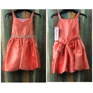Girls Bonnie Jean formal dress